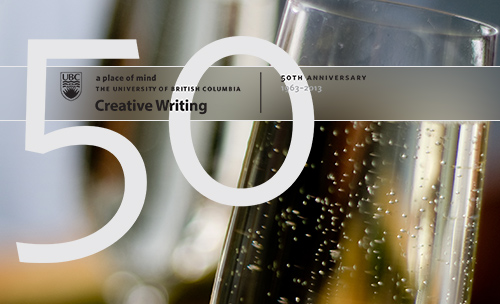 ubc creative writing 50th anniversary gala